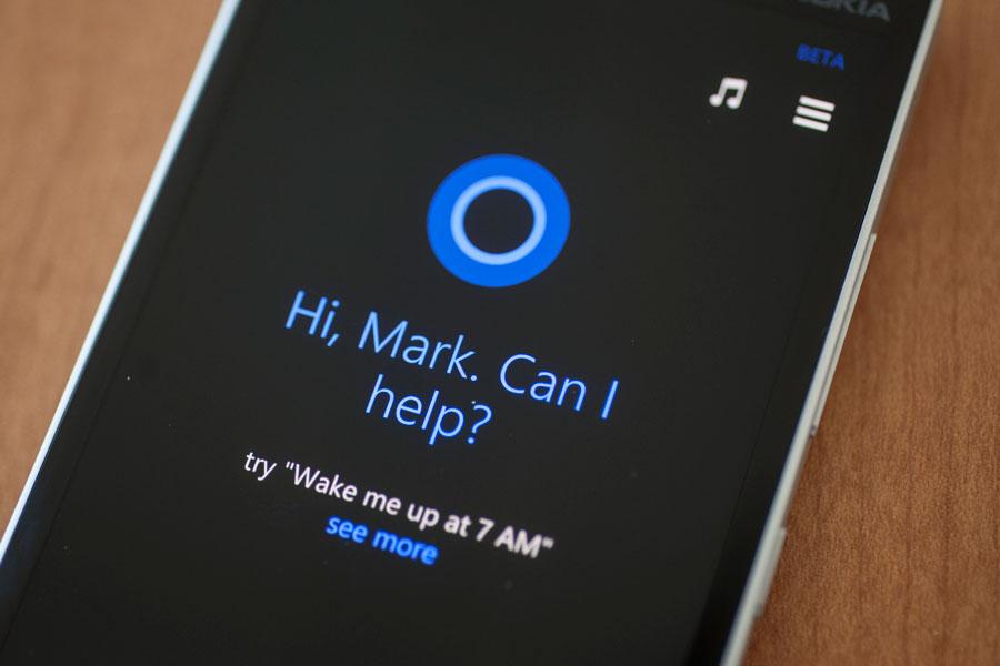 Instalación y actualización de Cortana en un dispositivo móvil 2