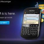 Procedimientos para actualizar Blackberry Messenger versión 6.0