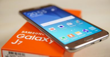 actualizar el software de Samsung J7-