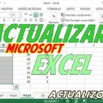 Cómo puedo actualizar Microsoft Excel